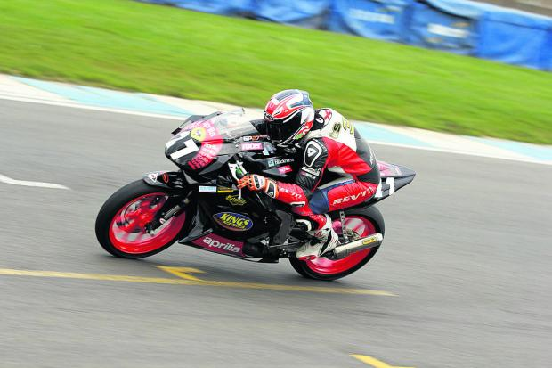 Georgina Polden showed good form at Donington Park