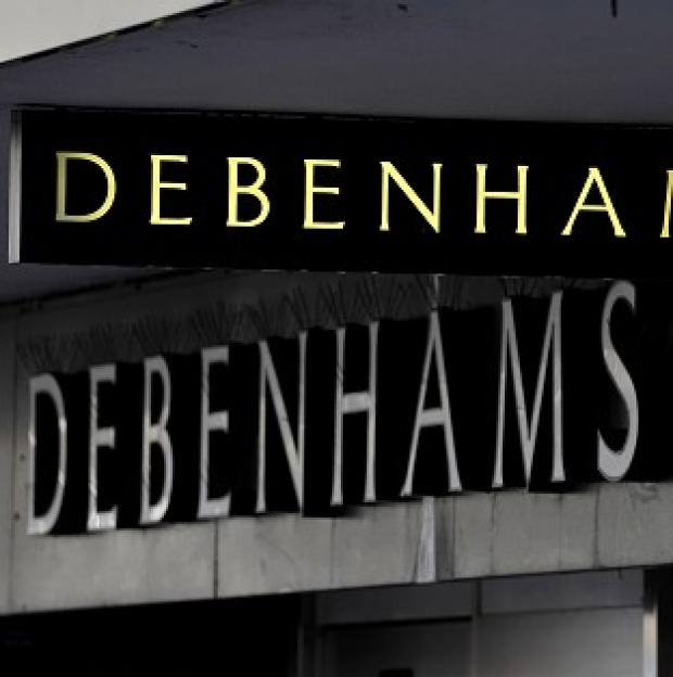 Bicester Advertiser: Debenhams' profits fell 24.5% to �85.2m in the six months to March 1