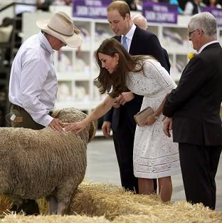 Bicester Advertiser: The Duke and Duchess of Cambridge at the Royal Easter Show at Sydney Olympic Park