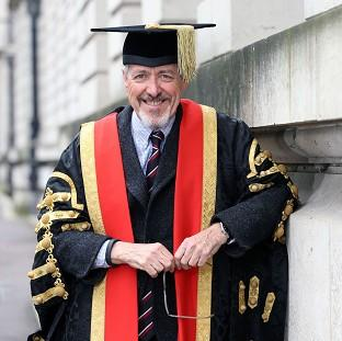 Bicester Advertiser: Griff Rhys Jones had been expected to be named chancellor of Cardiff University