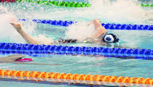 Bicester Blue Fins' prospect Liam O'Brien smashed the club's 50m freestyle record at British Gas Championships