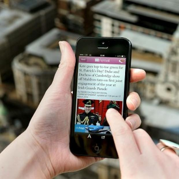 Bicester Advertiser: Users of iPhones are most likely to send a sexy text message, a survey found