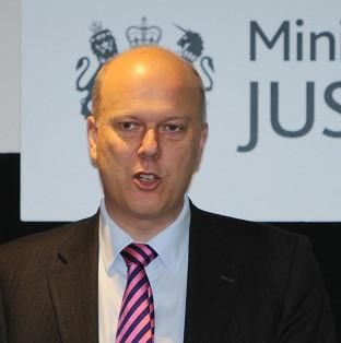 Justice Secretary Chris Grayling said disqualified driver
