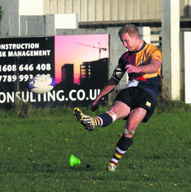 Bicester Advertiser: Oxford Harlequins' Zac Norris comes into the starting line-up