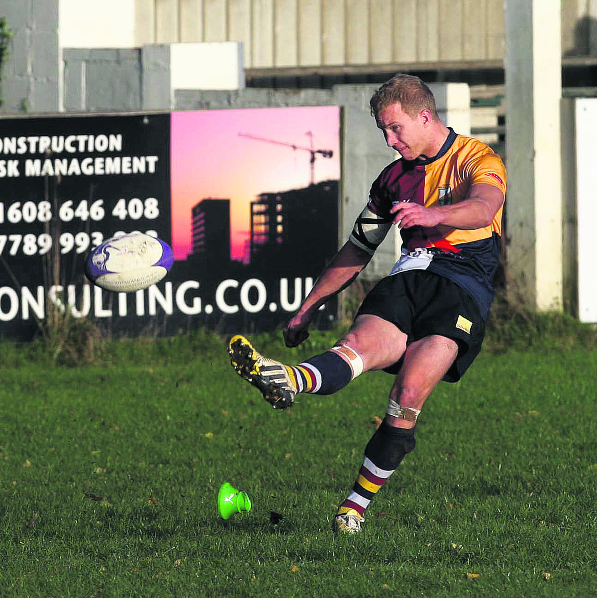 Oxford Harlequins' Zac Norris comes into the starting line-up