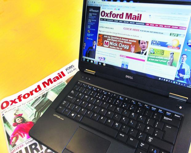 Bicester Advertiser: The Oxford Mail website