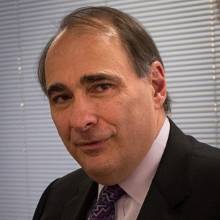 David Axelrod was left embarrassed by his spelling error