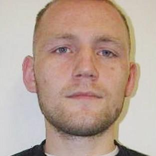 Bicester Advertiser: Dean Jackson, 27, from Newcastle-upon-Tyne who alongside Damien Burns, 39, originally from Scarborough, North Yorkshire, has absconded from the category D Hatfield Prison