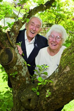 George and Agnes Larkins are set to celebrate their 70th wedding anniversary   Main picture: OX67305 Antony Moore