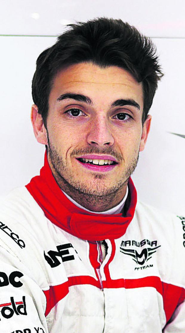 Bicester Advertiser: Jules Bianchi sealed Marussia's first Formula 1 points at Monaco
