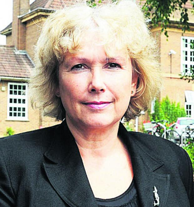 Bicester Advertiser: Sue Croft, the principal of Oxford Spires Academy