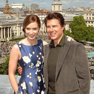 Bicester Advertiser: Emily Blunt and Tom Cruise star in Edge Of Tomorrow.