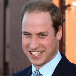 Prince William has recorded a message of support for the England national team