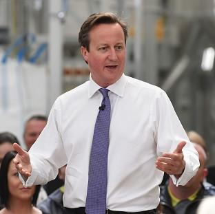 Bicester Advertiser: Prime Minister David Cameron says Russia risks isolation over Ukraine