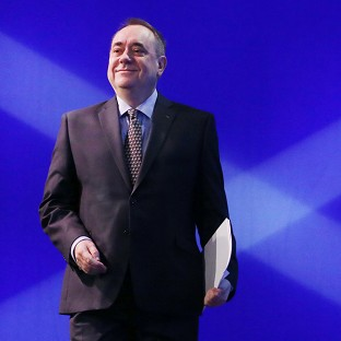Alex Salmond is confident of a Yes vote in the independence referendum on September 18