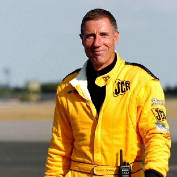 Bicester Advertiser: Wing Commander Andy Green is hoping to drive a car at 1,000mph