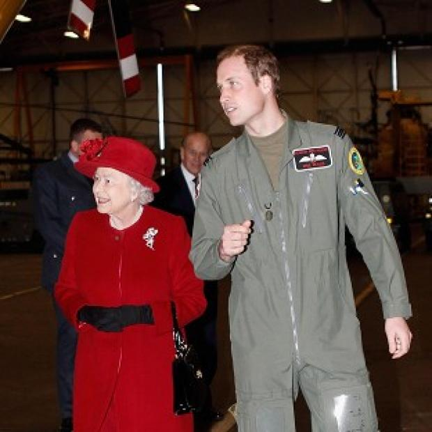 Bicester Advertiser: Prince William is more popular with the public than his grandmother, a poll suggests