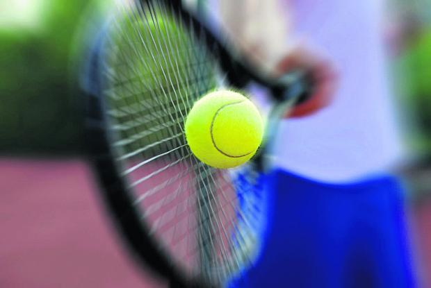 Bicester Advertiser: A tennis club is holding a tea party