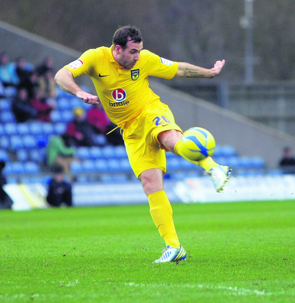 Former Oxford United man Peter Leven wants to resume his career after injury