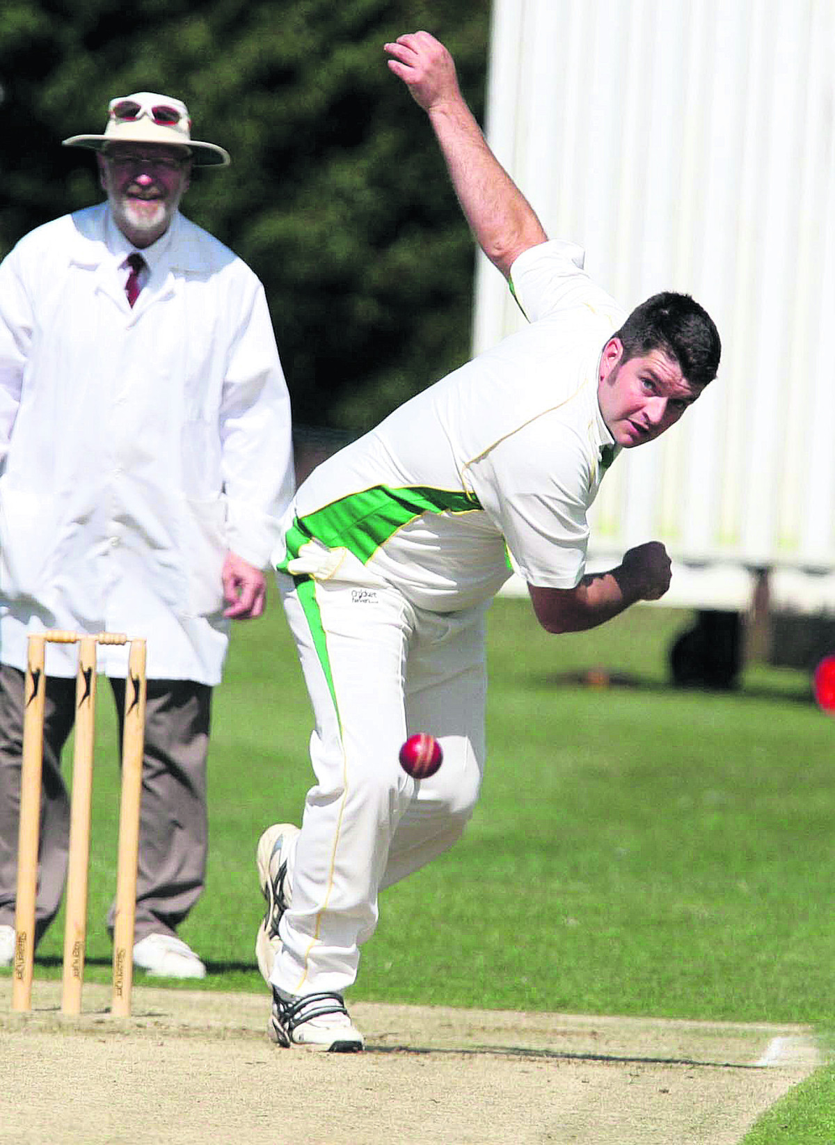Chesterton's Trevor Price took 5-12 as he helped them to a nine-wicket win against Wolvercote in Division 3 on Saturday