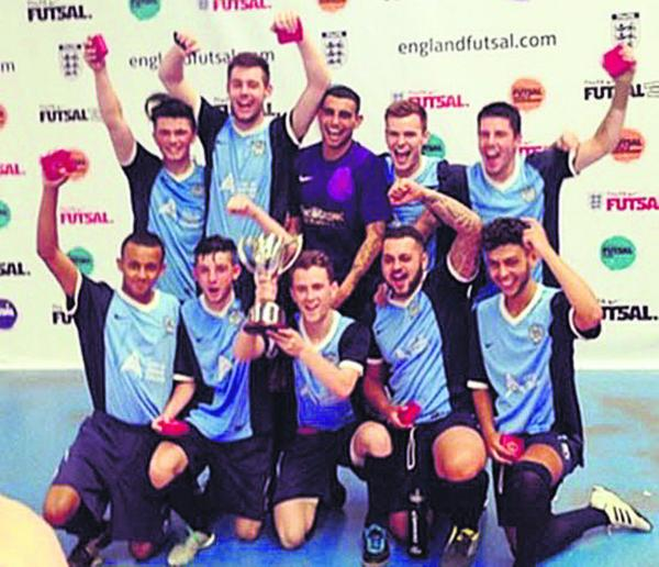 FUTSAL: Oxford lads are national champs