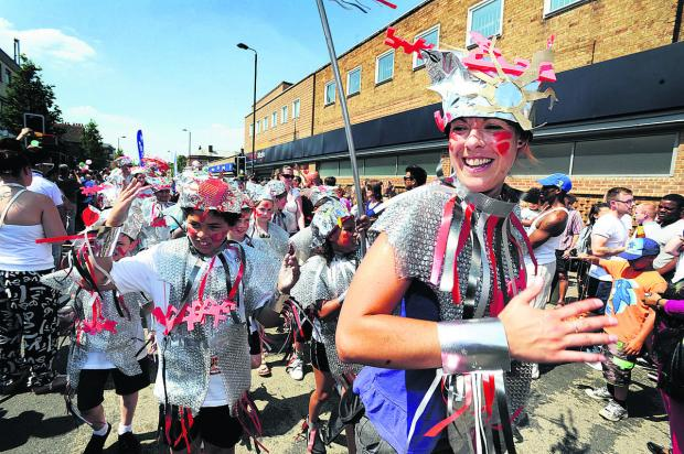 Bicester Advertiser: St Francis School's robots in last year's Cowley Road Carnival procession