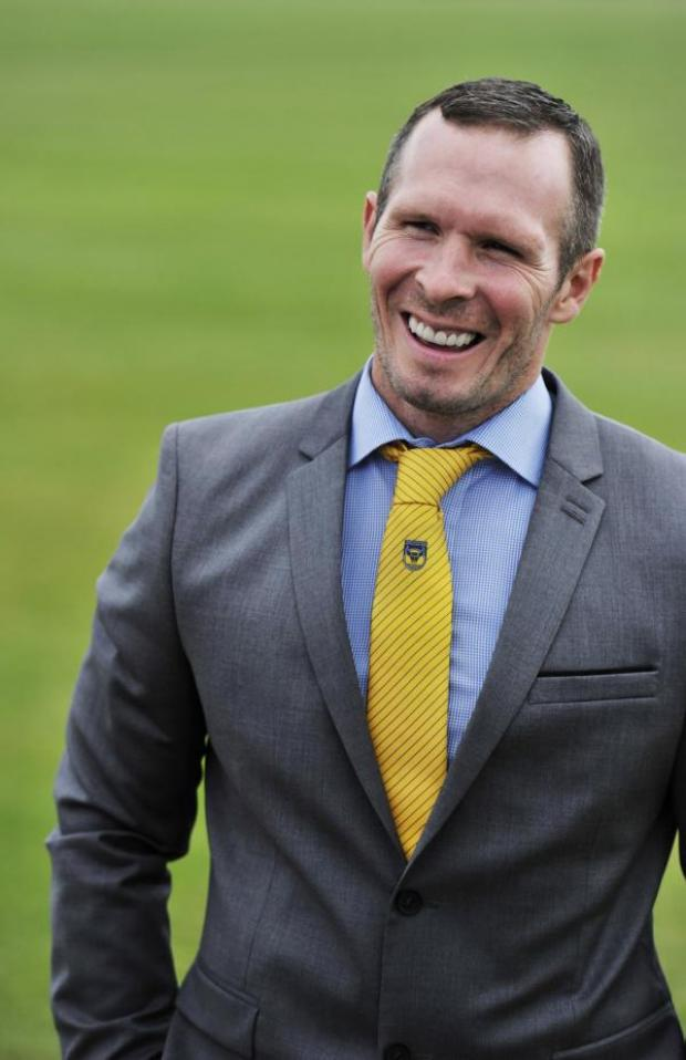 Bicester Advertiser: Michael Appleton is happy to be starting his new job as head coach at Oxford United's training ground at Roman Way yesterday