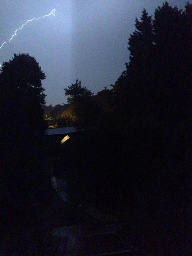 Bicester Advertiser: foulks storm pic