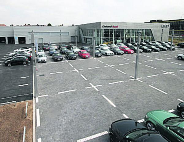 Ridgeway's new Oxford Audi dealership at Oxford Business Park