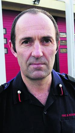 Assistant Chief Fire Officer Simon Furlong