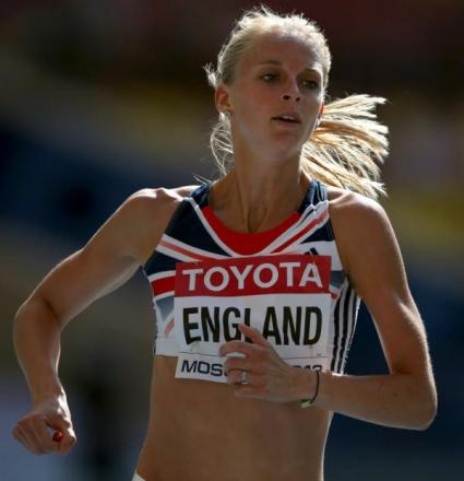 Hannah England has set her sights on making the European Championships 1500m final