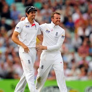 Graeme Swann, right, does not believe Alastair Cook is the right man to lead England's one-da