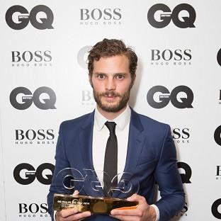 Jamie Dornan won a GQ Men of the Year Award