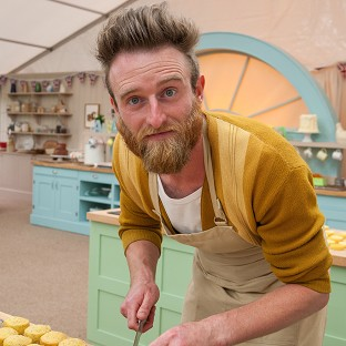 Iain Watters was at the centre of The Great British Bake Off's 'bin-cident' row