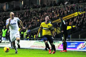 Oxford United hope for Roberts return inside a month