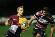 Oxfordshire head coach Craig Burrows is hoping Jack Robinson's (left) pace can cause C