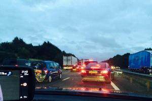 Update: Two people die after major crash between junctions 10 and 9 of the M40 last night