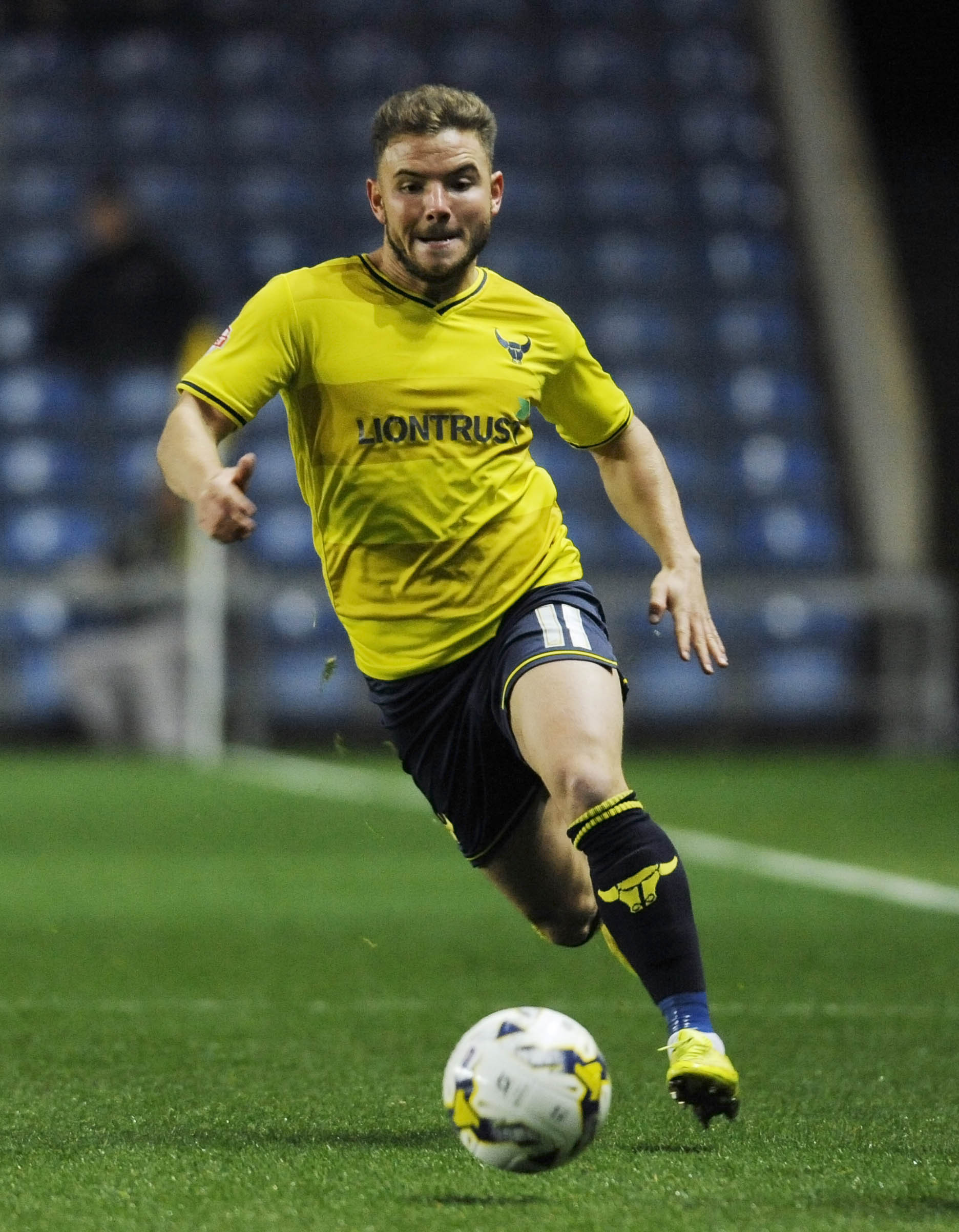 Oxford United's Alex MacDonald