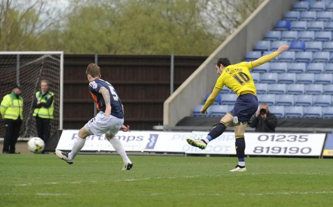 Danny Hylton opened the scoring in the second minute  Picture: David Fleming