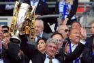 Steve Bruce secured his fourth promotion to the Premier League