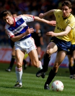 Bicester Advertiser: HEROES RETURN: John Aldridge, pictured at Wembley during United's Milk Cup triumph, is due to play for the U's again