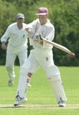 Andrew Sabin scored century for Banbury 2nd
