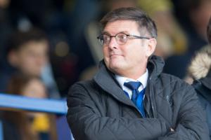 BUSINESS AS USUAL: Oxford United chairman Darryl Eales is focusing on strengthening the squad	 Picture: James Williamson
