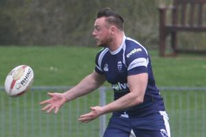 DOUBLE DELIGHT: Josh Atkinson scored two tries during Oxford RL's 38-18 victory over South Wales Ironmen