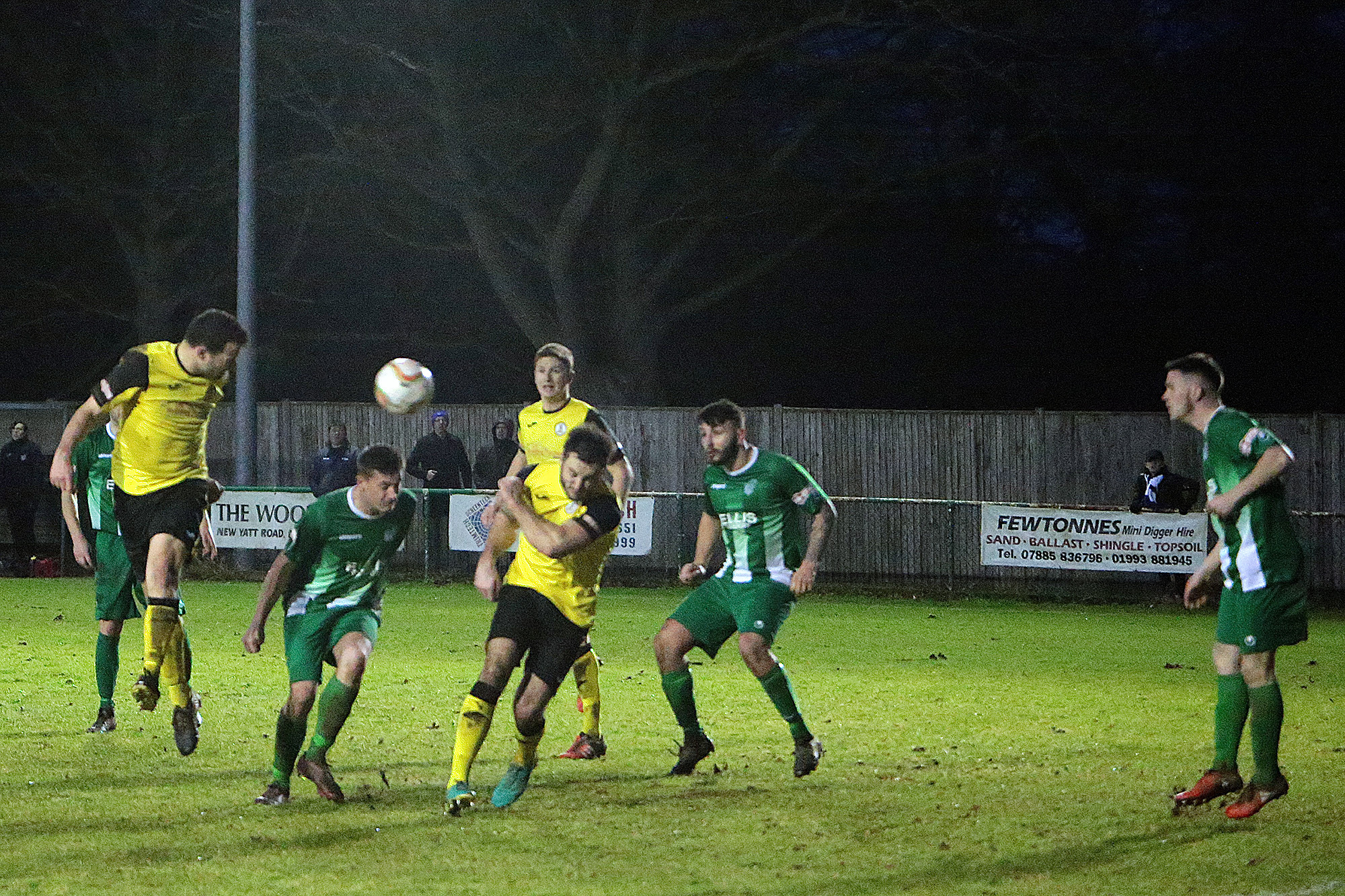 Eynsham Park, pictured during a North Leigh match in January, is struggling with the wet weather  Picture: Ric Mellis