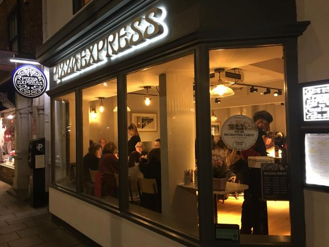 Pizza Express Which Has Two Oxford Branches At Risk Of