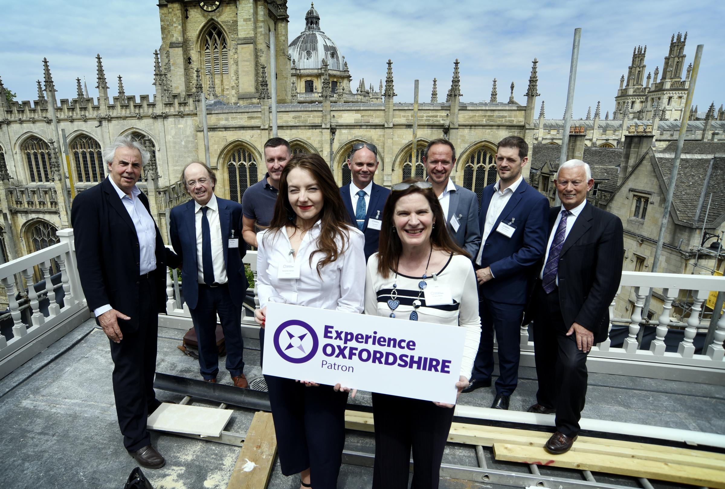 Business leaders gather for the launch of Experience Oxfordshire's new Patron scheme. Pic Experience Oxfordshire