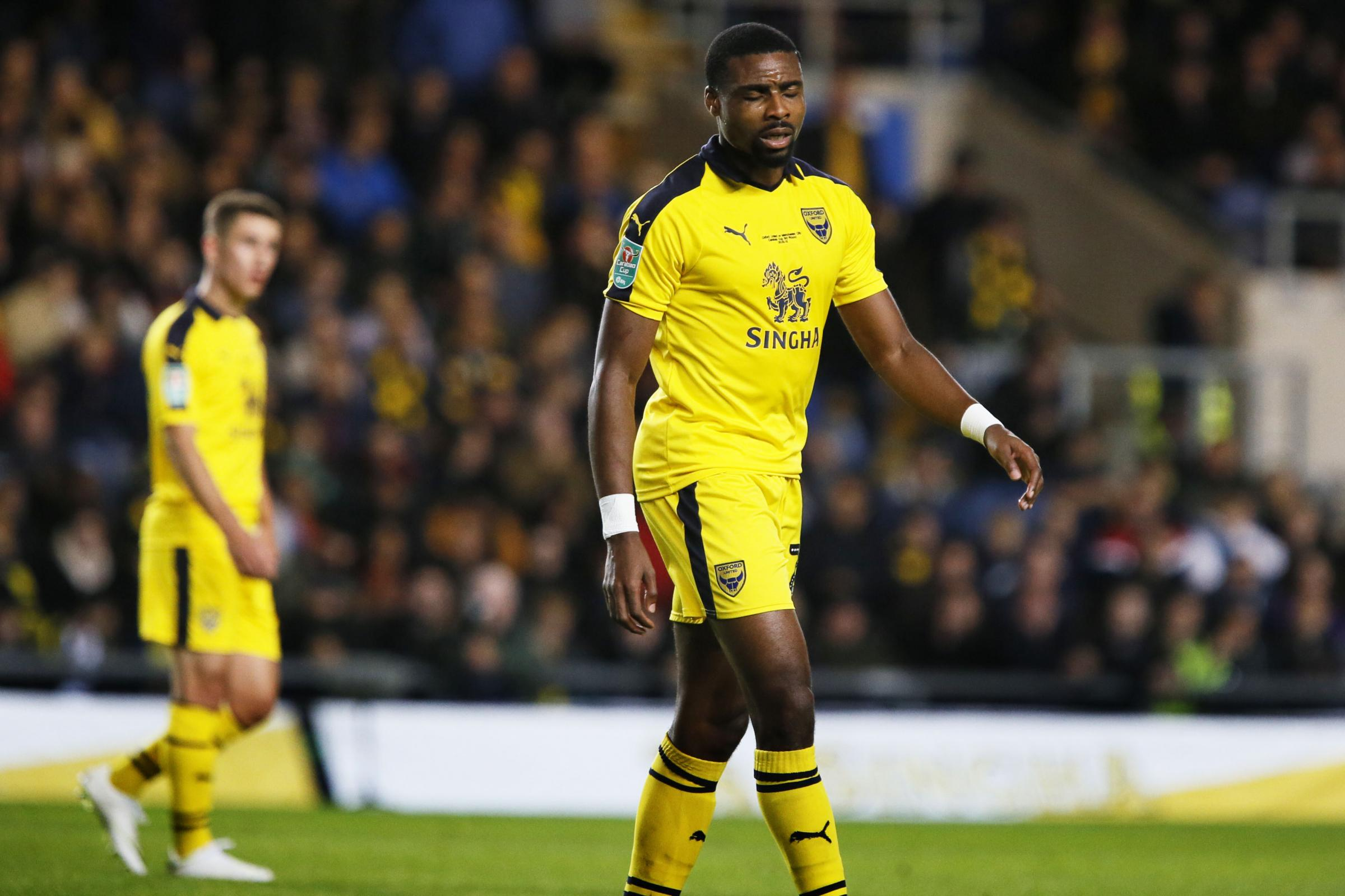 BIG BLOW: Jon Obika is set to miss the rest of the season with a knee injury