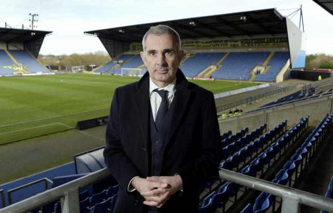 Oxford United's managing director Niall McWilliams   Picture: David Fleming