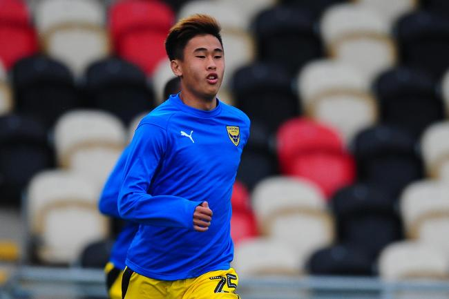Tsun Dai has been on Oxford United's first team bench just once this season, at Newport County in August  Picture: Tom Sandberg/PPAUK
